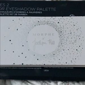 Jaclyn Hill & Morphe Eye Shadow collection